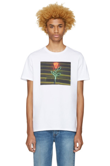 A.P.C. - White La Rose T-Shirt