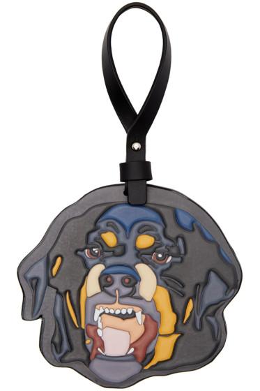 Givenchy - Black Rottweiler Keychain