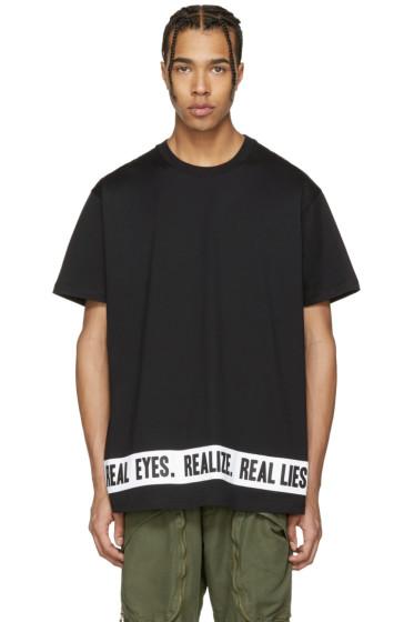 Givenchy - Black 'Real Eyes' T-Shirt