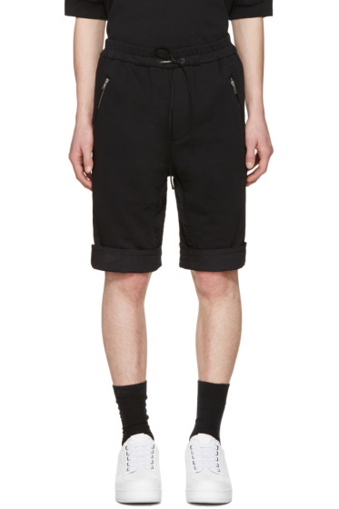 3.1 Phillip Lim - Black Cotton Shorts