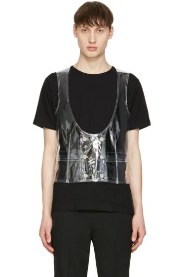 Comme des Garçons Homme Plus - Transparent PVC Vest
