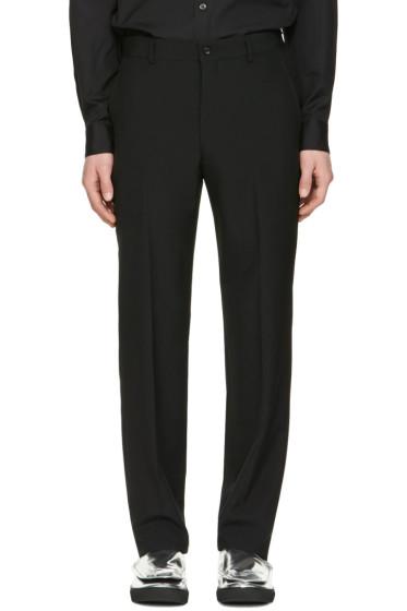 Comme des Garçons Homme Plus - Black Tropical Trousers
