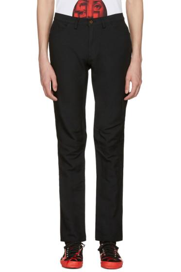 Comme des Garçons Homme Plus - Black Twill Trousers