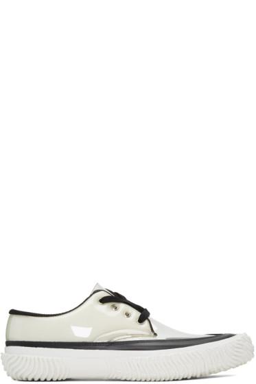 Comme des Garçons Homme Plus - Black & Transparent PVC Sneakers