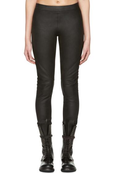Gareth Pugh - Black Leather Pants