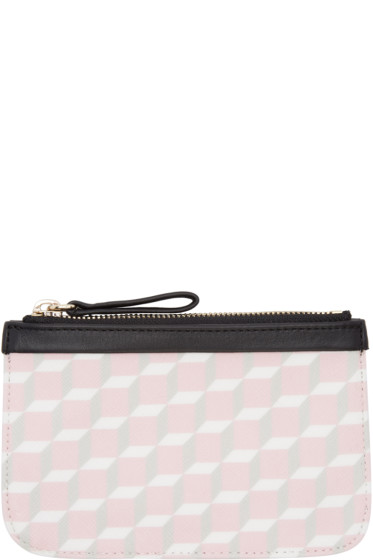 Pierre Hardy - SSENSE Exclusive Pink Small Cube Pouch