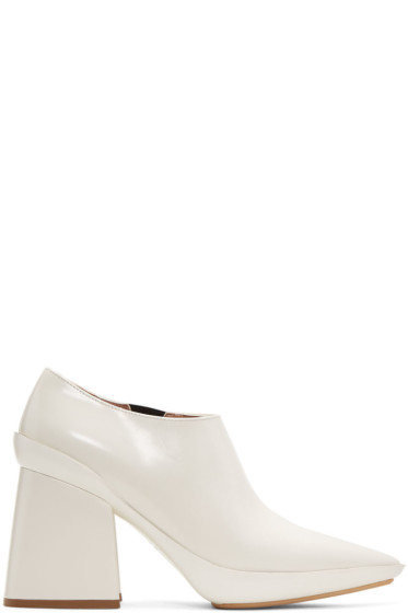 Marni - Off-White Pointed Heels
