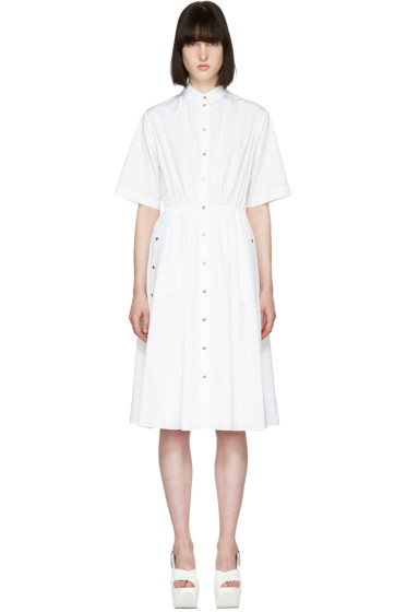 Kenzo - White Poplin Shirt Dress