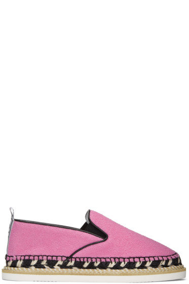 Kenzo - Pink Kasual Espadrilles