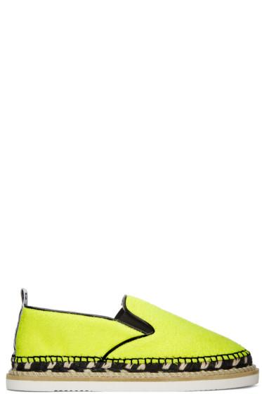 Kenzo - Yellow Kasual Espadrilles
