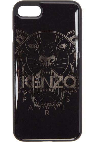 Kenzo - Black Tiger iPhone 7 Case