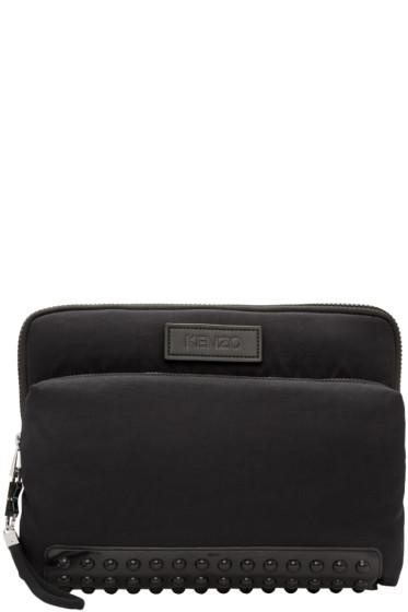 Kenzo - Black Studded Pouch