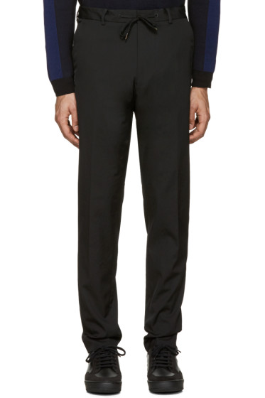 Kenzo - Black Drawstring Trousers