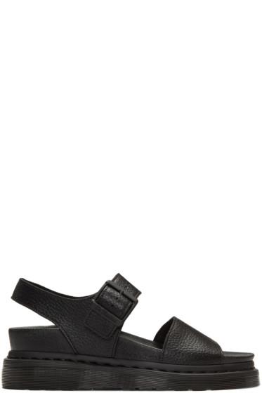 Dr. Martens - Black Romi Sandals
