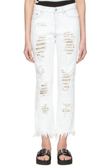 Versus - Blue Distressed Jeans