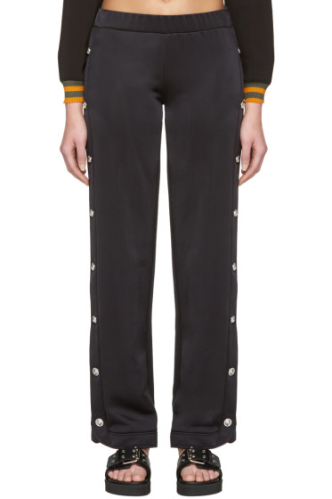 Versus - Black Side Slit Lounge Pants