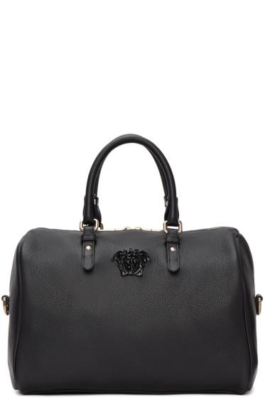 Versace - Black Barrel Duffle Bag
