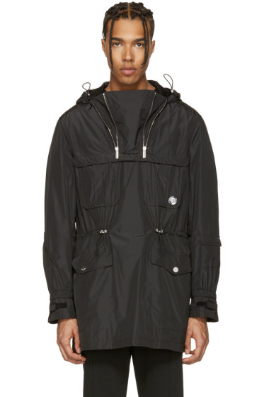 Versace - Black Double Zipper Jacket
