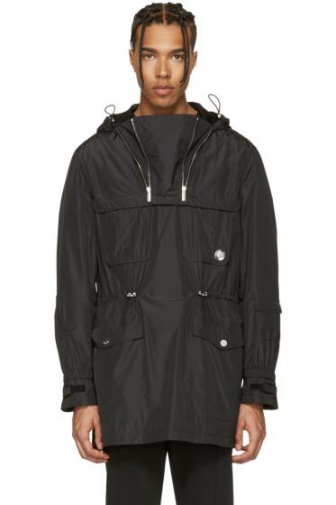 Versace - Black Double Zipper Jacket