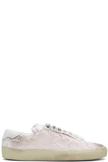 Saint Laurent - Pink Court Classic California Sneakers