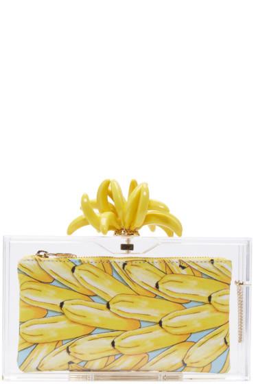 Charlotte Olympia - Transparent Bananas For Pandora Clutch