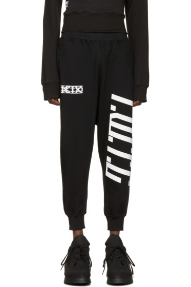 KTZ - Black Harem Lounge Pants
