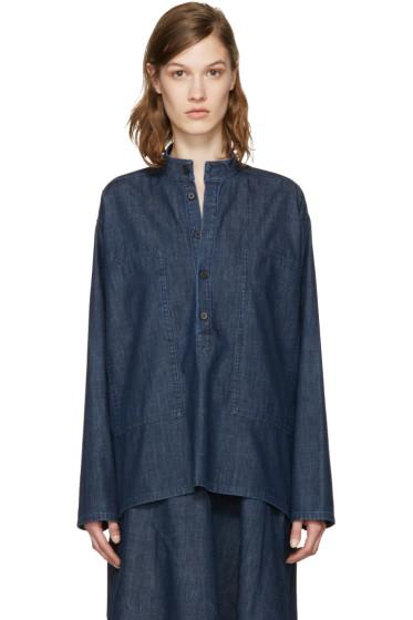 6397 - Blue Denim Deck Shirt