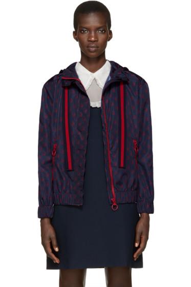 Gucci - Navy Nylon GucciGhost Jacket