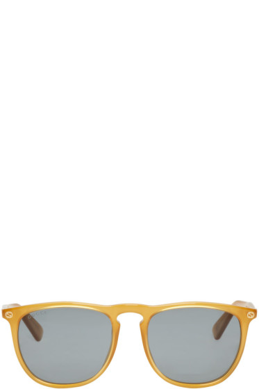 Gucci - Tan Urban Pantos Sunglasses