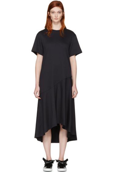 Cédric Charlier - Navy T-Shirt Dress