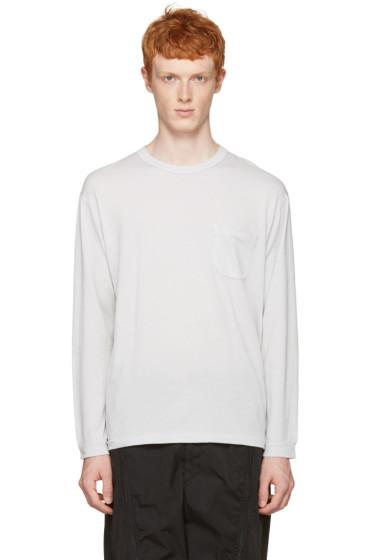 Nanamica - Grey Pocket T-Shirt