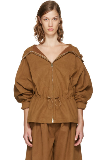 Stella McCartney - Tan Freda Jacket