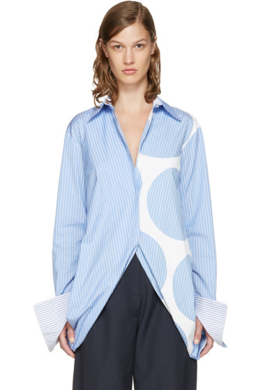 Stella McCartney - Blue Striped Manuela Shirt