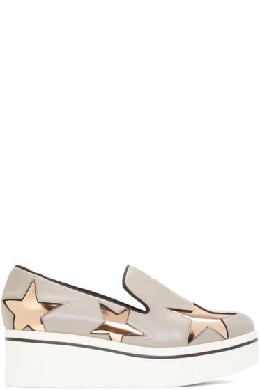 Stella McCartney - Grey Star Binx Sneakers