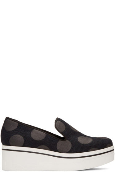 Stella McCartney - Black Polka Dot Binx Sneakers