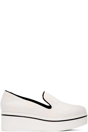Stella McCartney - White Binx Polka Dot Sneakers