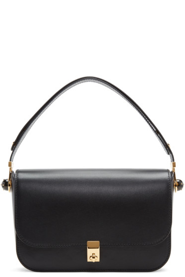 Valentino - Black Pierced Stud Bag