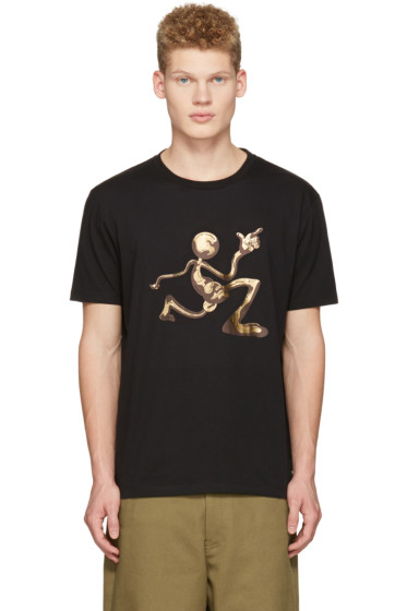J.W. Anderson - Black Mercury Man T-Shirt