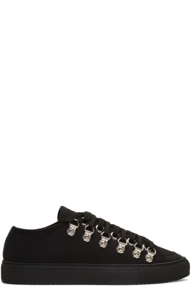 J.W. Anderson - Black Canvas Sneakers