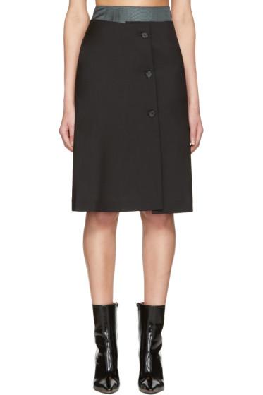 Yang Li - Black Double Layer Skirt