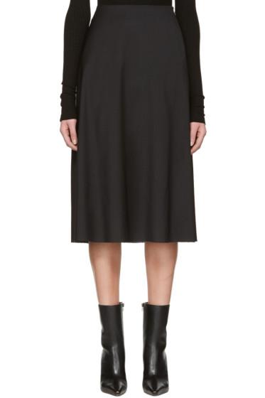 Yang Li - Black Minimal Skirt
