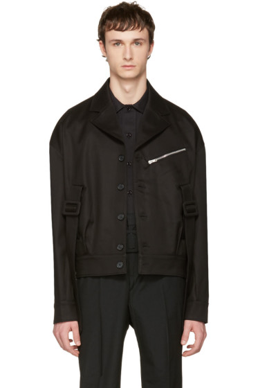 Yang Li - Black Belted Army Jacket