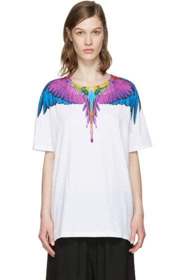 Marcelo Burlon County of Milan - ホワイト ヨナ T シャツ