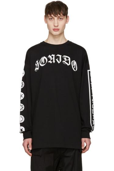 Marcelo Burlon County of Milan - Black Neron Long Sleeve T-Shirt