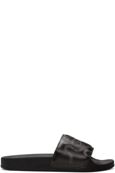 Marcelo Burlon County of Milan - Black Essie Sandals