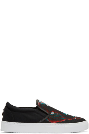 Marcelo Burlon County of Milan - Black Betsy Slip-On Sneakers