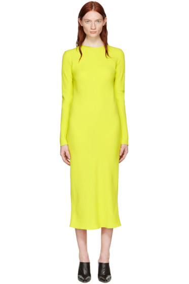 Haider Ackermann - Yellow Bias Dress