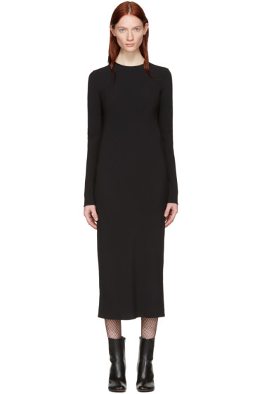 Haider Ackermann - Black Bias Dress