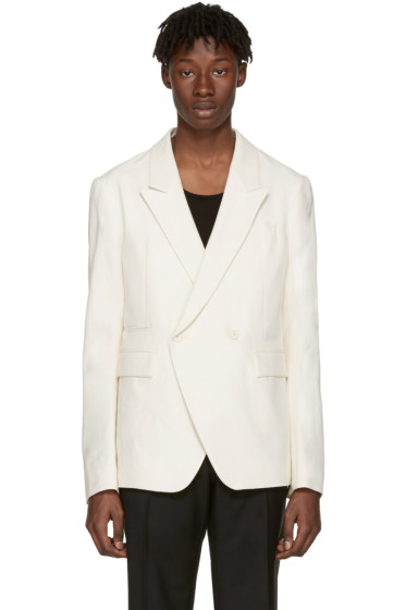Haider Ackermann - Ecru Cotton Blazer