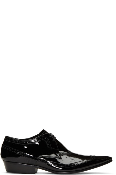 Haider Ackermann - Black Patent Leather Brogues